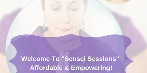 Sensei Sessions with Nancy Mueller