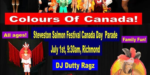 Colours Of Canada -  Canada Day Parade
