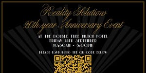 20 Years in the making....Reality Solutions...