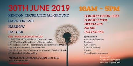 London's Mindful & Peacefullness Festival MBS tickets