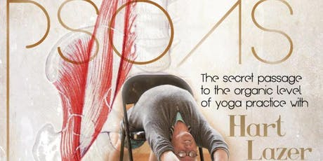 Yoga Workshop with Hart Lazer tickets