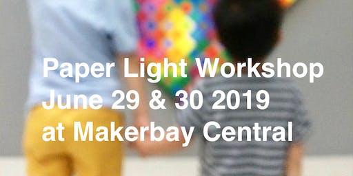Paper Light Workshop by Studio AC/AL