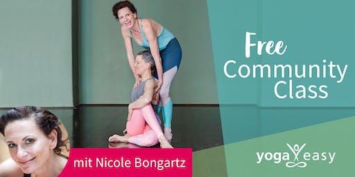 YogaEasy Community Class – mit Nicole Bongartz