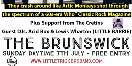 Little Triggers Live - Free Sunday Daytime Event + The Cretins & DJs tickets