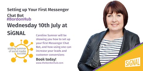 Setting up Your First Messenger Chat Bot with Caroline Sumners tickets