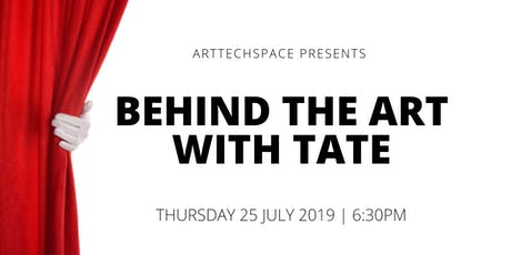 Behind the Art with Tate  tickets