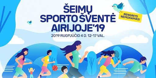 Šeimų sporto šventė Airijoje 2019