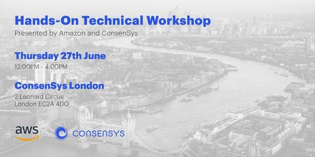 ConsenSys & AWS: Hands-On Technical Workshop tickets