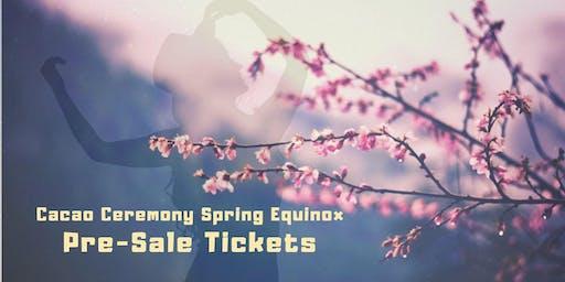 Castlemaine Cacao Ceremony- Spring Equinox