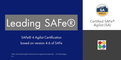 Leading SAFe 4.6 (Weekend) with SAFe Agilist certification tickets