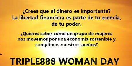 JUNTAS SOMOS FUERTES  - TRIPLE 888 Woman Day Valencia entradas