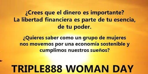 JUNTAS SOMOS FUERTES  - TRIPLE 888 Woman Day Valencia