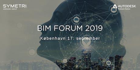 Symetri BIM Forum 2019 - København tickets
