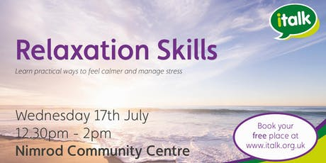 Relaxation Skills - Rowner, Gosport tickets