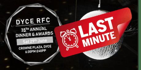 Dyce RFC Annual Dinner & Awards Night tickets