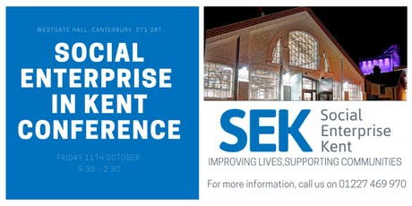 Social Enterprise In Kent Conference tickets