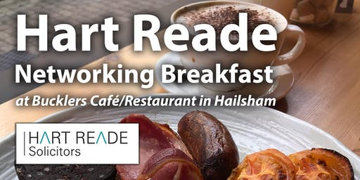 Hart Reade Hailsham Networking Breakfast - 11th September 2019