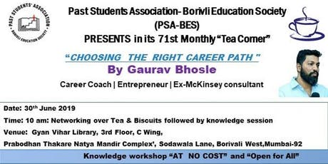 Choose the right Career Path tickets