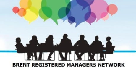 Brent Registered Managers Network lunch tickets