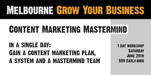 Content Marketing Mastermind