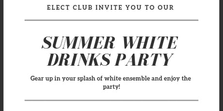 Summer white party for singles on a soho rooftop  tickets
