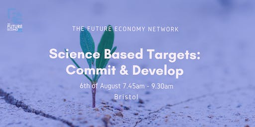 Science Based Targets: Commit & Develop