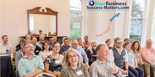 Business Success Matters St Albans, Oct 2019