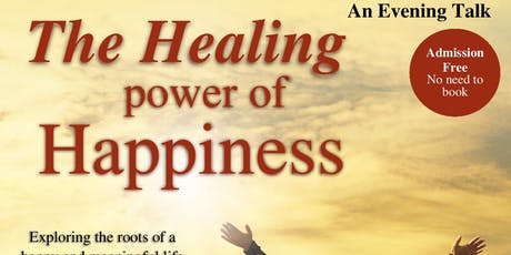 The Healing Power of Happiness tickets