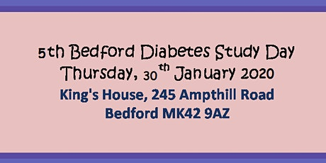 5th Bedford Diabetes Study Day tickets