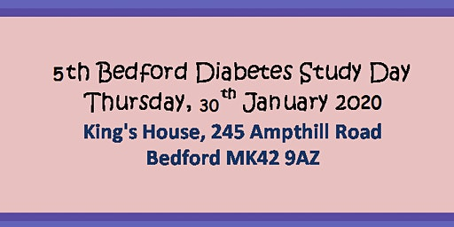 5th Bedford Diabetes Study Day