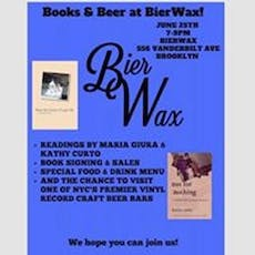 Books & Beer at BierWax! [Live Poetry Reading] tickets