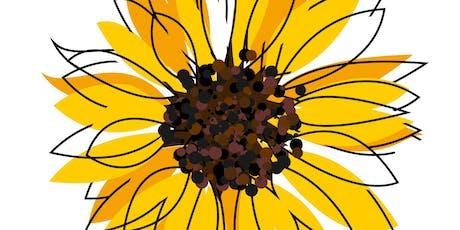 Creativity & Design - A Sunflower Summer Workshop for 10-13 year olds tickets
