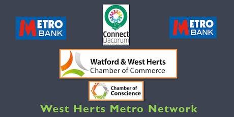 MetroBank Hemel Networking Event-23rd August  tickets