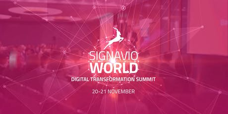 Signavio World 2019 tickets