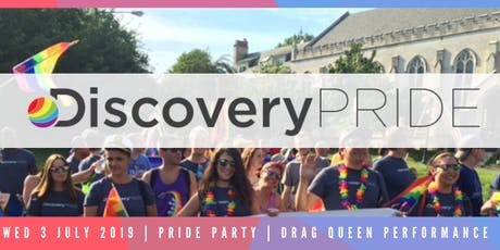 DISCOVERY PRIDE PARTY tickets