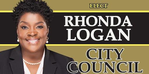 Dr. Holloway's Fundraiser Reception for Rhonda Logan