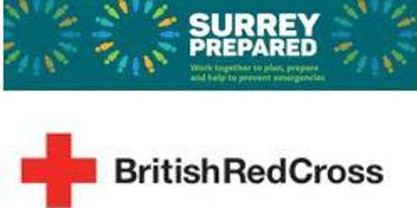 FREE Community First Aid Training - British Red Cross / Surrey Prepared tickets