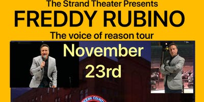 Fred Rubino at the Strand Theater