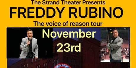 Fred Rubino at the Strand Theater  tickets