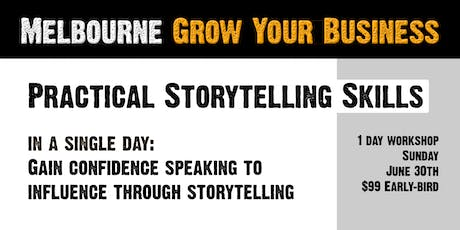 Practical Storytelling Skills for Business tickets