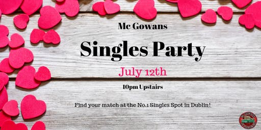 McGowans Singles Night