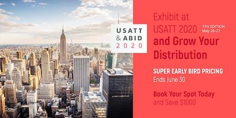 2020 USA Trade Tasting - Exhibitor Registration Portal tickets