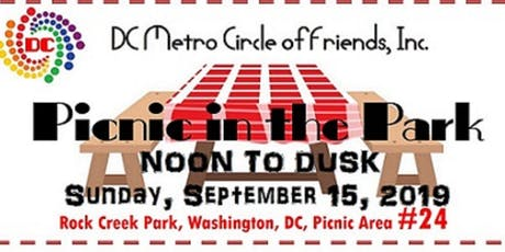 "DC Metro Circle of Friends - 5th Annual ""Picnic in the Park"" tickets"