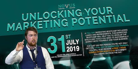 UNLOCKING YOUR MARKETING POTENTIAL tickets