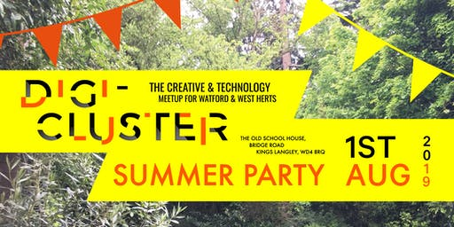 Digi-Cluster | Hertfordshire | A meetup for digital agency owners in Herts - August 2019