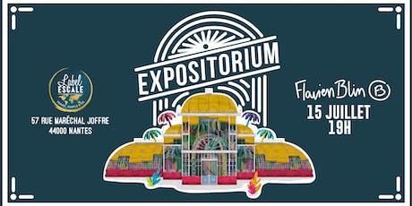 Vernissage Expositorium - Flavien Blin billets