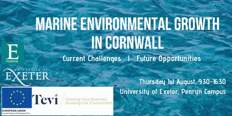 Marine Environmental Growth with TEVI and ExeterMarine tickets