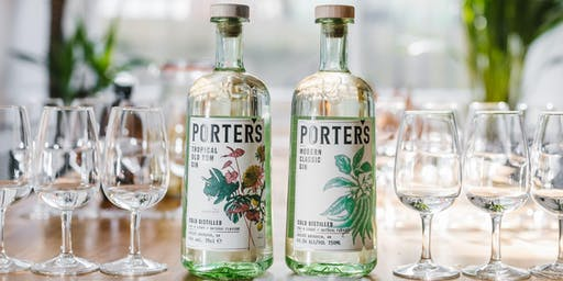 Chapelton Drinks Tasting 2019, with Porter's Gin