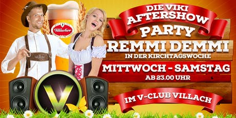 Die VIKI-Aftershowparty mit DJ Indygo Day1 Tickets