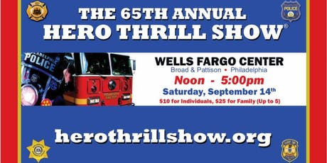 65th Annual Hero Thrill Show tickets